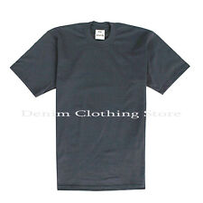 PRO CLUB MEN'S BLANK SOLID HEAVY WEIGHT SHORT SLEEVE T-SHIRT PROCLUB TEE S-7XL