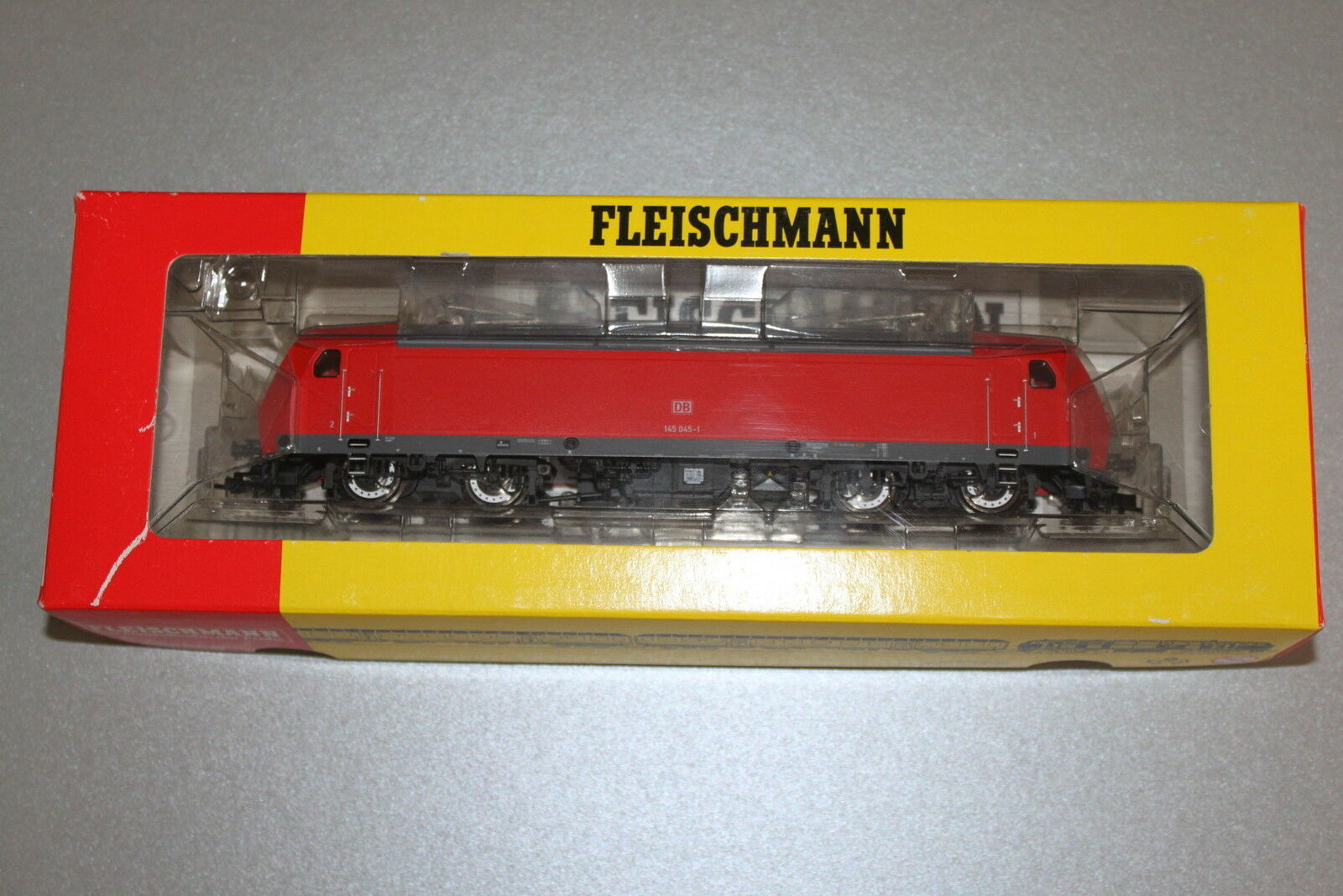 Fleischmann 4322 K Elok Baureihe 145 045-1 DB DB DB Spur H0 OVP  | Ab dem neuesten Modell  bed271