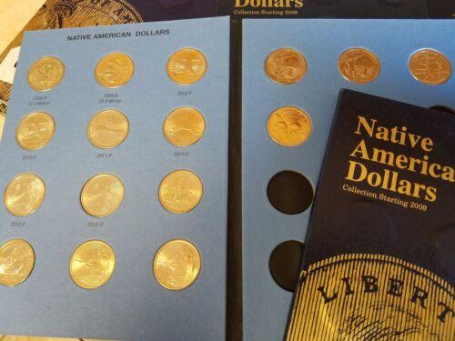 Complete 22 Coin Set-/>2009-2019 P/&D Sacagawea Native American Dollars Jim Thorpe