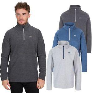 Trespass-Tandle-Mens-Fleece-Jacket-Half-Zip-Camping-Hiking-Jumper