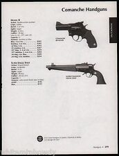 2005 COMANCHE Model II Revolver & Super Single Shot Handgun AD