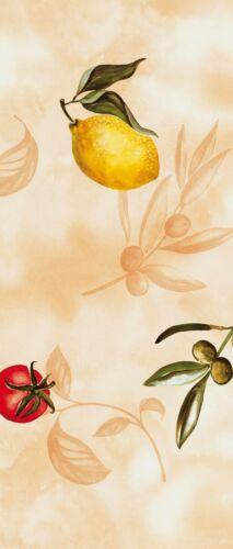 Airlaid Tischläufer Sizilien 40 cm x 24 m Mediterran Zitrone Tomaten Mank