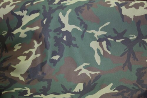 """OUTDOOR 58/"""" Camouflage FABRIC WATERPROOF ANTI-UV AWNING sold by the yard"""