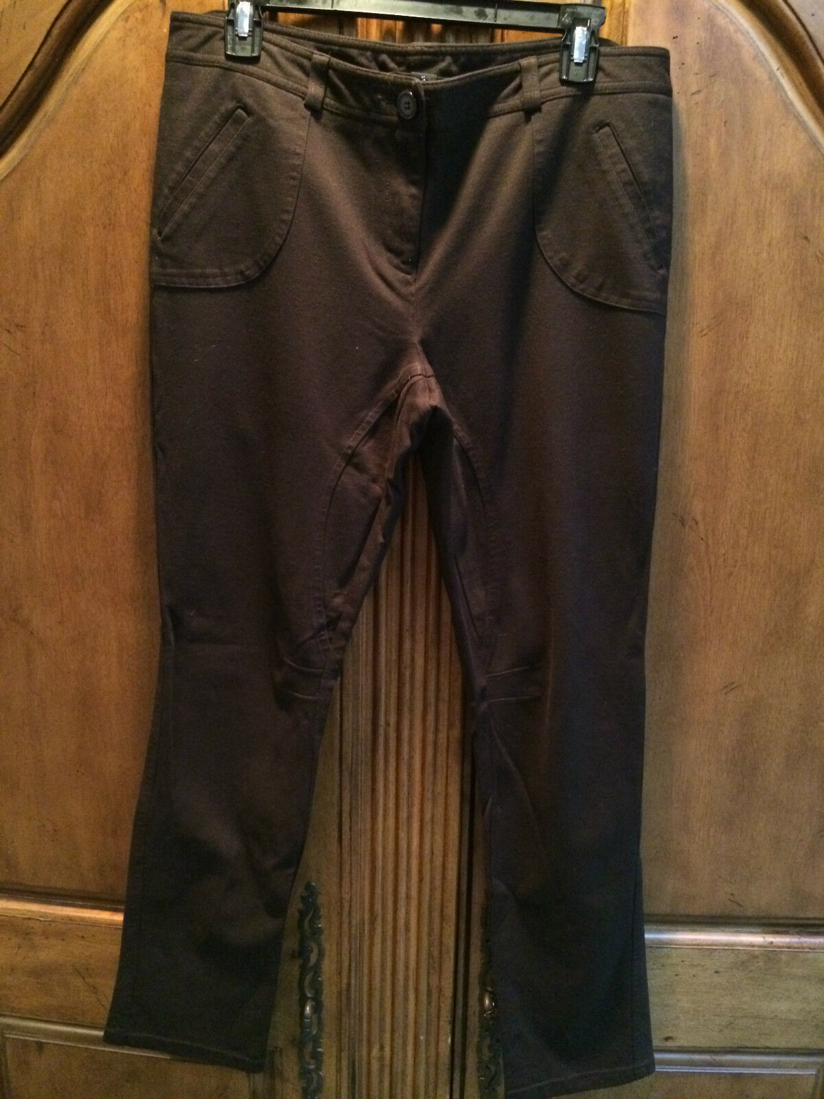 INC INTERNATIONAL CONCEPTS BROWN PANTS SIZE 12 NEW