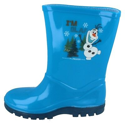 Chicos Chicas & Frozen Olaf Chill Azul Wellington por Disney £ 5.99
