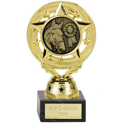 "* horse poney THEME Trophy Awards /""Free ENGRAVING/"""