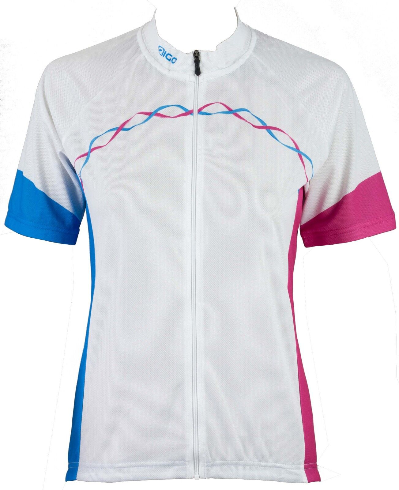 NEW EIGO RIBBON  MTB ALL ROAD XC BICYCLE CYCLING SHORT SLEEVE LADIES JERSEY WHITE  waiting for you