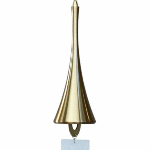 Nousaku Japanese Wind Bell Horn Motif Gold Color Type