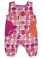 Obermeyer Arielle Bib Pants Girls 12 Months Pink Baby Winter Snow Ski Ret$70 on Sale