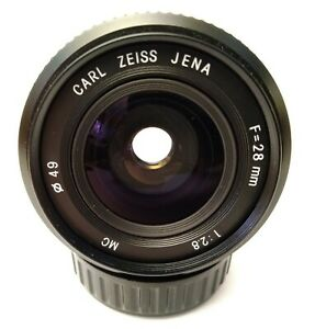 Carl-Zeiss-Jena-MC-MD-28-MM-F-2-8-Objektiv-MINOLTA-Mount