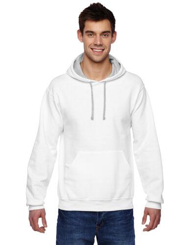 Fruit of the Loom Mens SofSpun Hooded Pullover Sweatshirt Hoodie S-3XL SF76R