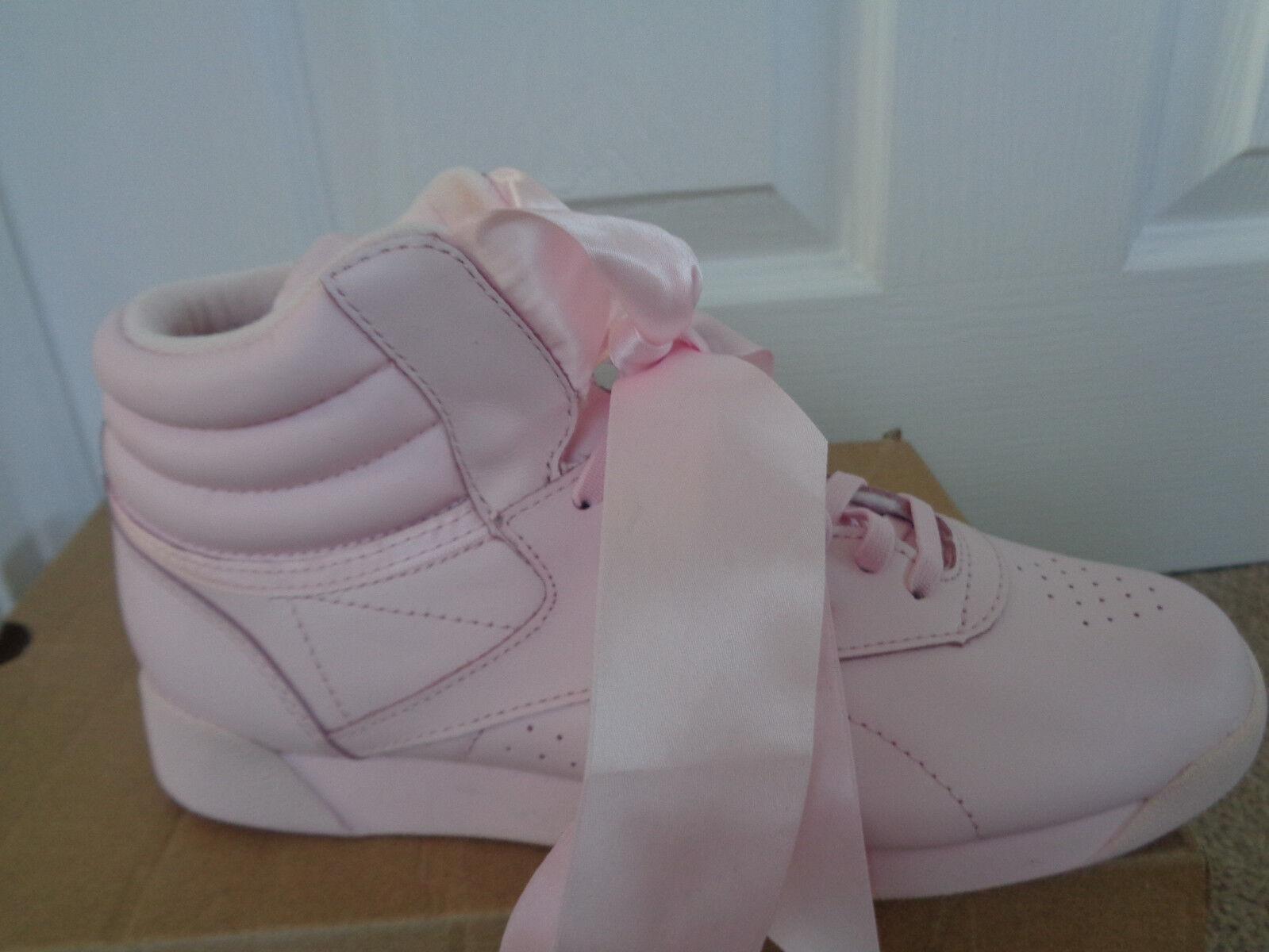 Reebok F S Hi arco de satén satén de para mujer Zapatillas zapatillas CM8905 UK 4 EU 37 nos 6.5 Nuevo 4b3ac6