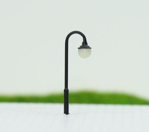 LED Lampen 26mm Spur N Leuchte Straßenlampen NEU LYM24 10 Stk
