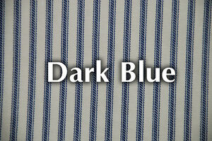 NEW-DARK-BLUE-Striped-Bed-Ticking-Fabric-Material-Sold-by-the-Yard