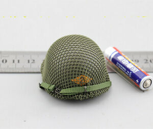 lDID 1//6 Scale WWII US 2nd Ranger Battalion Private First Class Reiben Helmet