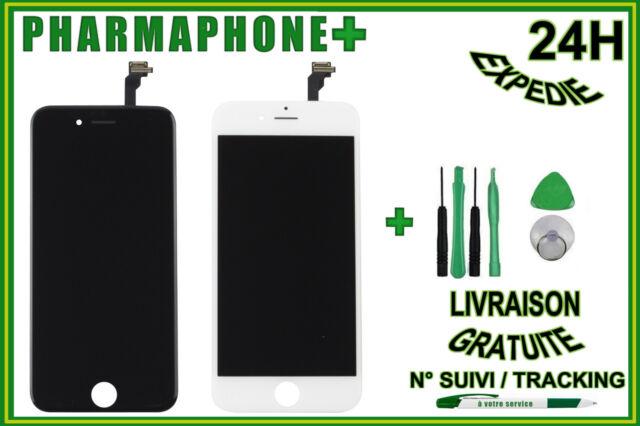 """Tattile Schermo LCD IPHONE 6 Plus (5,5 """") Nero O Bianco + Griglia Anti Polvere"""