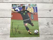 Giovani Gio Dos Santos Signed Team Mexico 8x10 Photo Autographed PROOF Galaxy c
