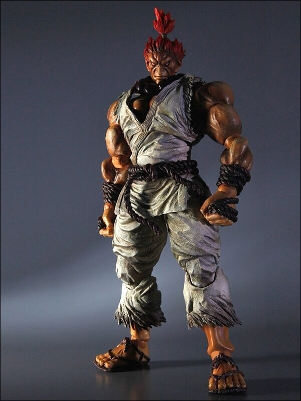 súper STREET FIGHTER IV Jugar Arts Kai Vol. 2 acción figura Gouki Akuma blancoo