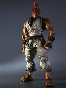 Super Street Fighter Iv Play Arts Kai Vol.   2 Figurine Gouki Akuma Blanc 662248811352