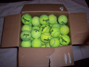 50 Utilisé à Haute Altitude Balles De Tennis-afficher Le Titre D'origine