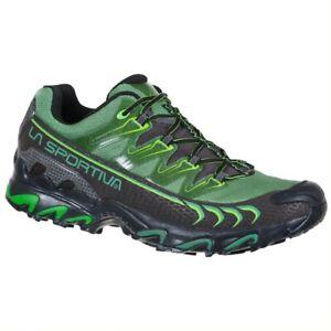 La Sportiva Ultra Raptor gtx scarpa uomo trail running black grass green