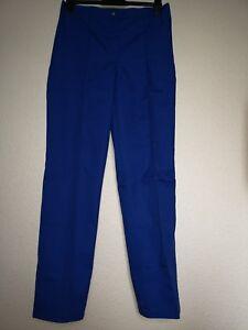 Unisex-Blue-Work-Trousers-UK-size-14-EUR-size-40-Alexandra-Uniform-Stretchy