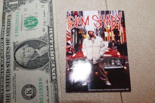 Rare Rap STICKER EMINEM Slim Shady Detroit Dr Dre Aftermath Car Hip Hop 3x4in
