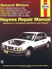 GM N-cars (Buick Skylark 86-98, Buick Somerset 85-87, Oldsmobile Achieva 92-98, Oldsmobile Calais 85-91, Pontiac Grand Am 85-98) Automotive Repair Manual by J. H. Haynes, Richard Lindwall (Paperback, 2001)