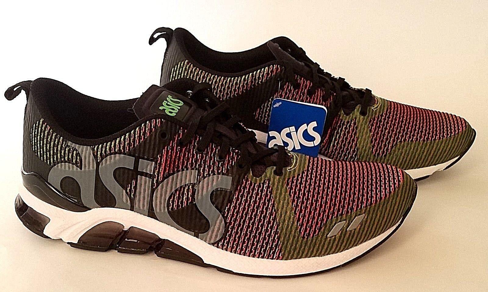 ASICS Mens Gel-Lyte One Eighty Fashion Sneaker, Gecko Green/Guava, 12 M US