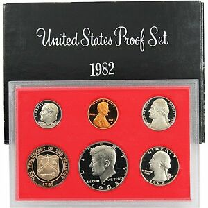 1982-S-Proof-Set-United-States-US-Mint-Original-Government-Packaging-Box