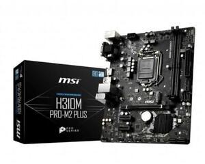 MSI-H310M-PRO-M2-PLUS-Motherboards-Intel-Socket-1151-Intel-H310-Chipset