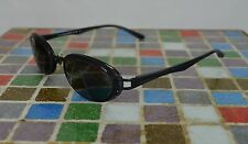 Vtg JPG Gaultier Dark Blue Translucent Oval Eye Glasses Frames Made in Japan