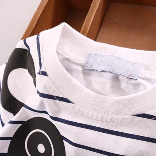 2PCS Neonato Neonato T-Shirt Da Bambino T-shirt Pantaloni Tute Abbigliamento