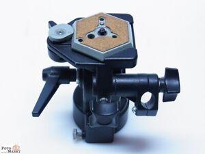 Manfrotto-Stativkopf-136-mit-Wechselplatte-fur-Saba-ST100-Stativ-professional