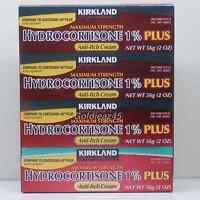 Hydrocortisone 1% Anti Itch Cream 4 Tubes 2oz Net 8oz