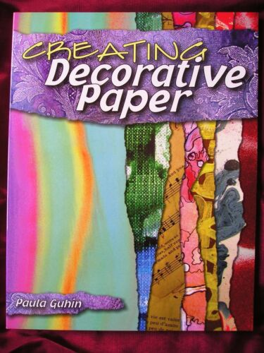 1 of 1 - CREATING DECORATIVE PAPER - Transform Ordinary Paper into Decorative Paper