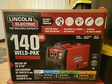 New Listinglincoln Electric K2514 1 Weld Pak 140 Hd Wire Feed Welder Brand New Unopened