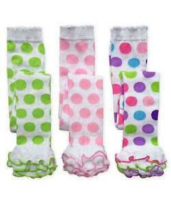 Jefferies Polka Dot Multi-Ruffle Footless Tights 6-18 M, 18-24 M, 2-4 Y, 4-6 Y