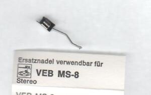 Nadel-Abtastnadel-Ersatznadel-fuer-DDR-GDR-VEB-RFT-Piezo-MS-8-Stereo-Tonnadel