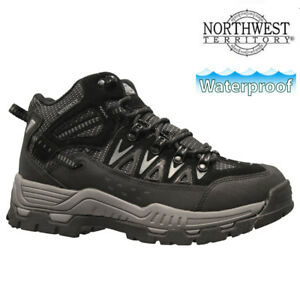 9d5c8547c9f Details about MENS NORTHWEST LEATHER WALKING HIKING WATERPROOF ANKLE BOOTS  TRAINERS SHOES SIZE