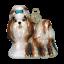 thumbnail 1 - Old-World-Christmas-SHIH-TZU-Dog-12172-N-Glass-Ornament-w-OWC-Box