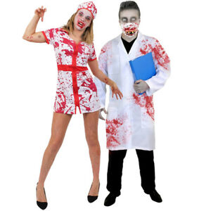 c5d7b0e86019d Image is loading ADULTS-HALLOWEEN-COUPLES-COSTUMES-ZOMBIE-DOCTOR-BLOODY- NURSE-