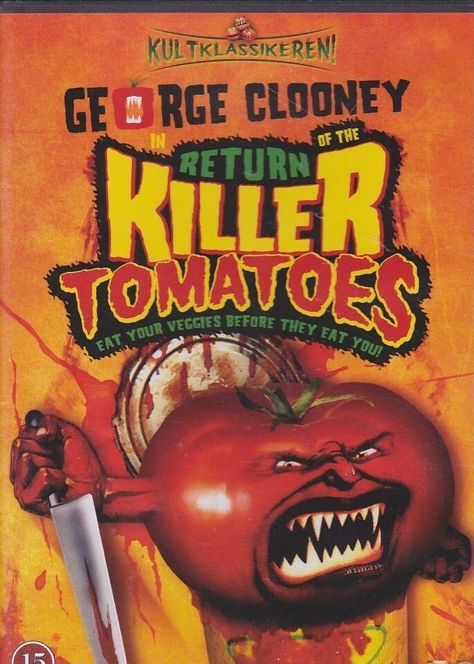 Return of the Killer Tomatoes, DVD, gyser