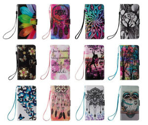 Bling-Glitter-Diamond-Flip-PU-Leather-Wallet-Card-Pockets-Case-Cover-For-Phones