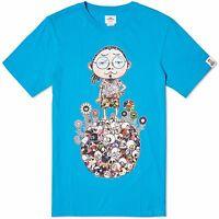 Vans Vault X Murakami Tee Portrait Turquoise 100% Authentic Vn-03dh410