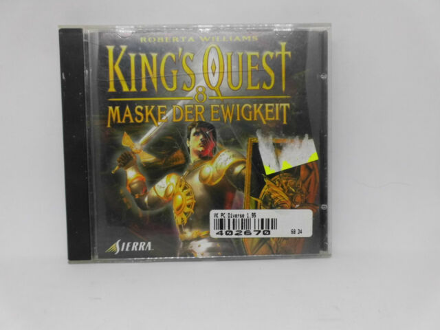 PC Spiel R. Williams: King´s Quest 8 - Maske der Ewigkeit Adventure in Deutsch