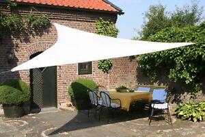 Tenda A Vela Per Terrazzo : Tenda a vela telo triangolare ombreggiante per arredo esterno