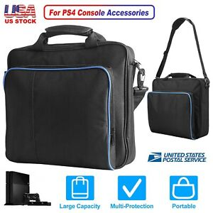 LARGE CAPACITY Travel Carry Case Handbag For PlayStation 4 PS4 Console Accessory