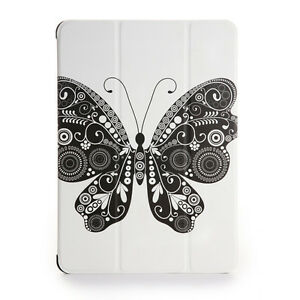 For-iPad-Air-2-Soft-Leather-Smart-Cover-Case-w-Auto-Sleep-Wake-Butterfly