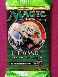 Magic The Gathering MTG Classic Sixth Edition 6ED